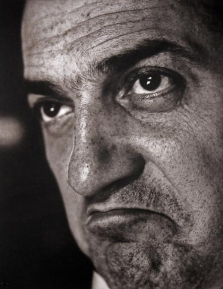 Federico Fellini, 1958 (Foto: Cornel Lucas)