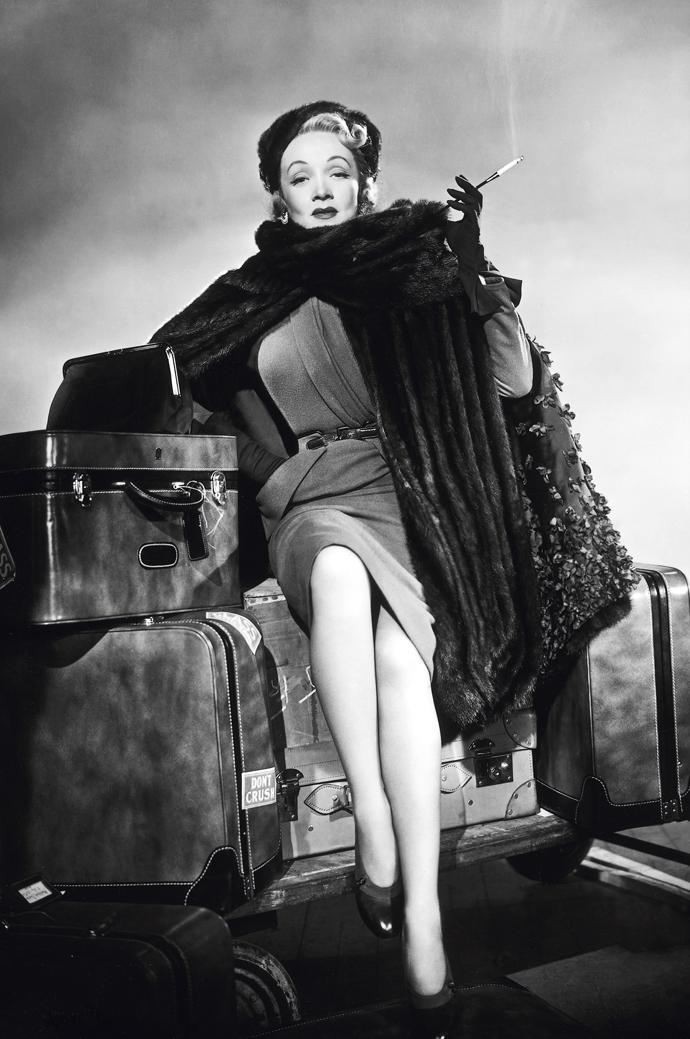 Marlene Dietrich, 1948. Foto: Cornel Lucas