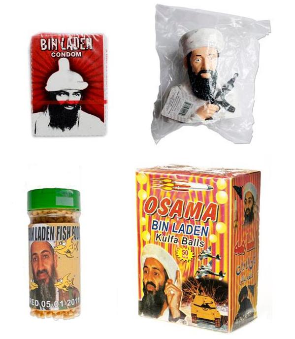 Objetos de la colección de Bin Laden de Martin Parr