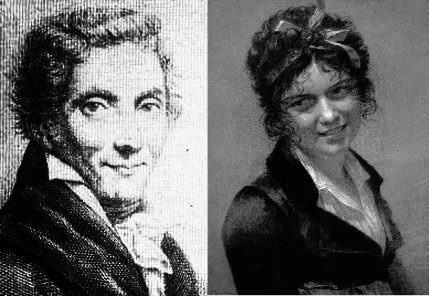 Pierre Paul Prud'hon y Constance Mayer