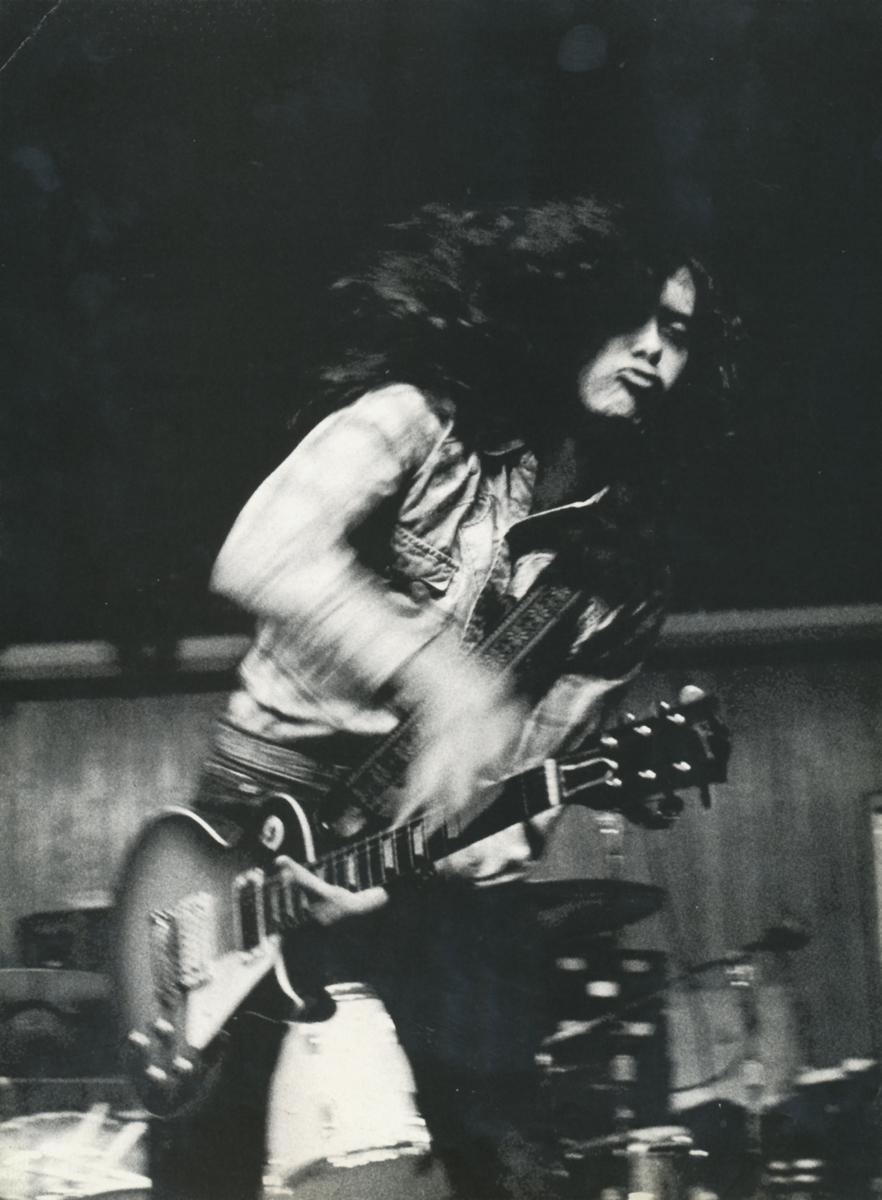 Jimmy Page, 1970 (Foto: Jorgen Allen)