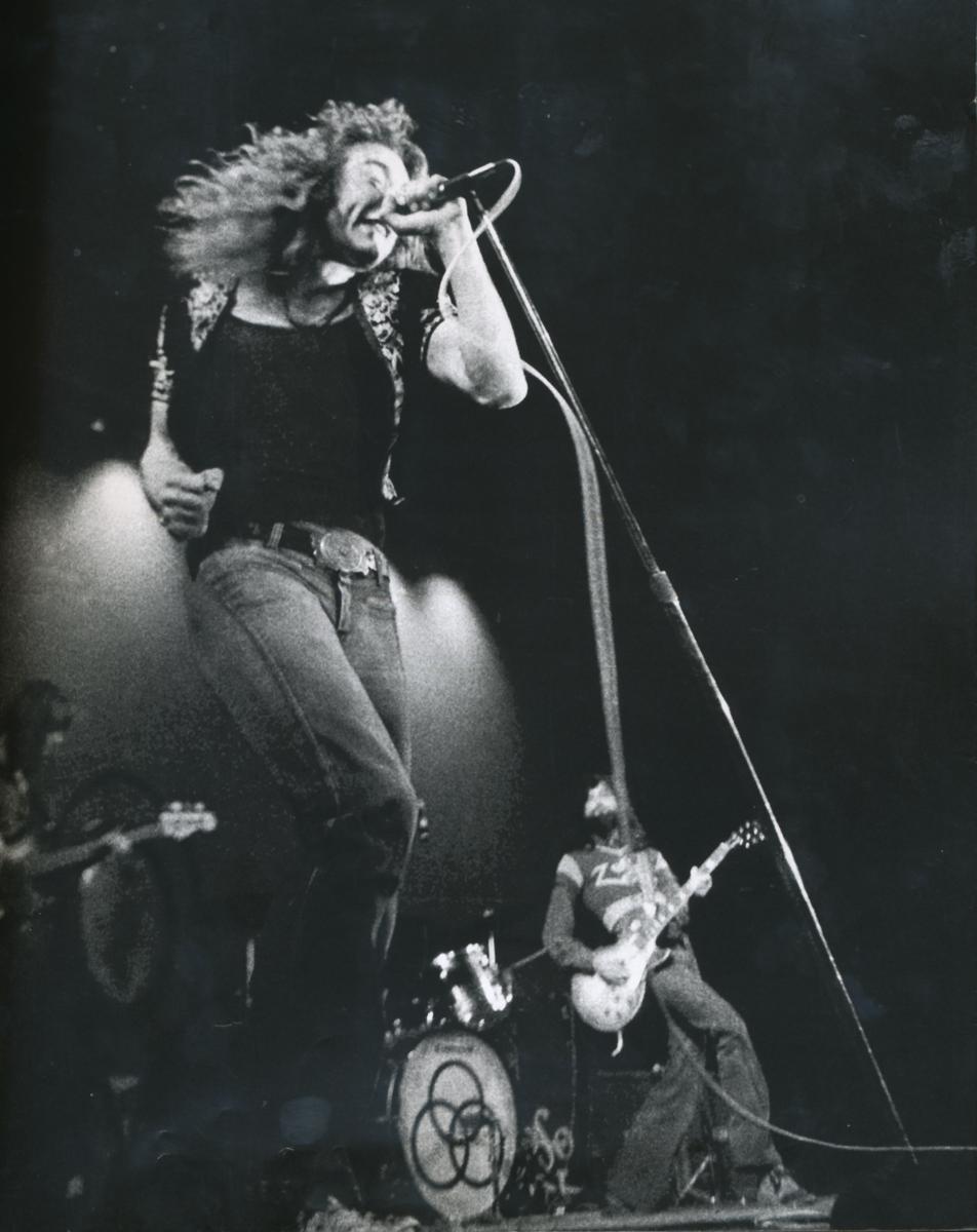Robert Plant, 1971 (Foto: Fin Costello)