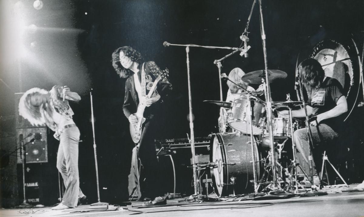Led Zeppelin en concierto, 1973