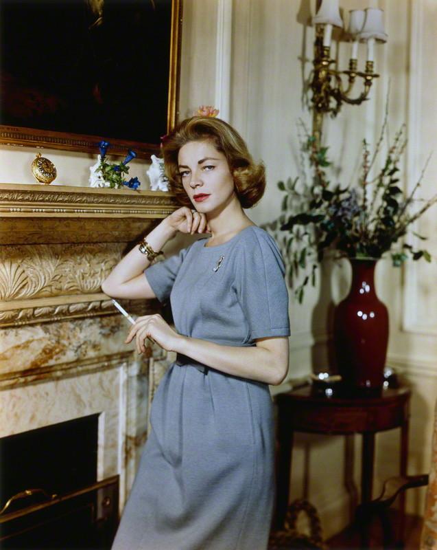 Lauren Bacall, 1958. Foto: Cornel Lucas