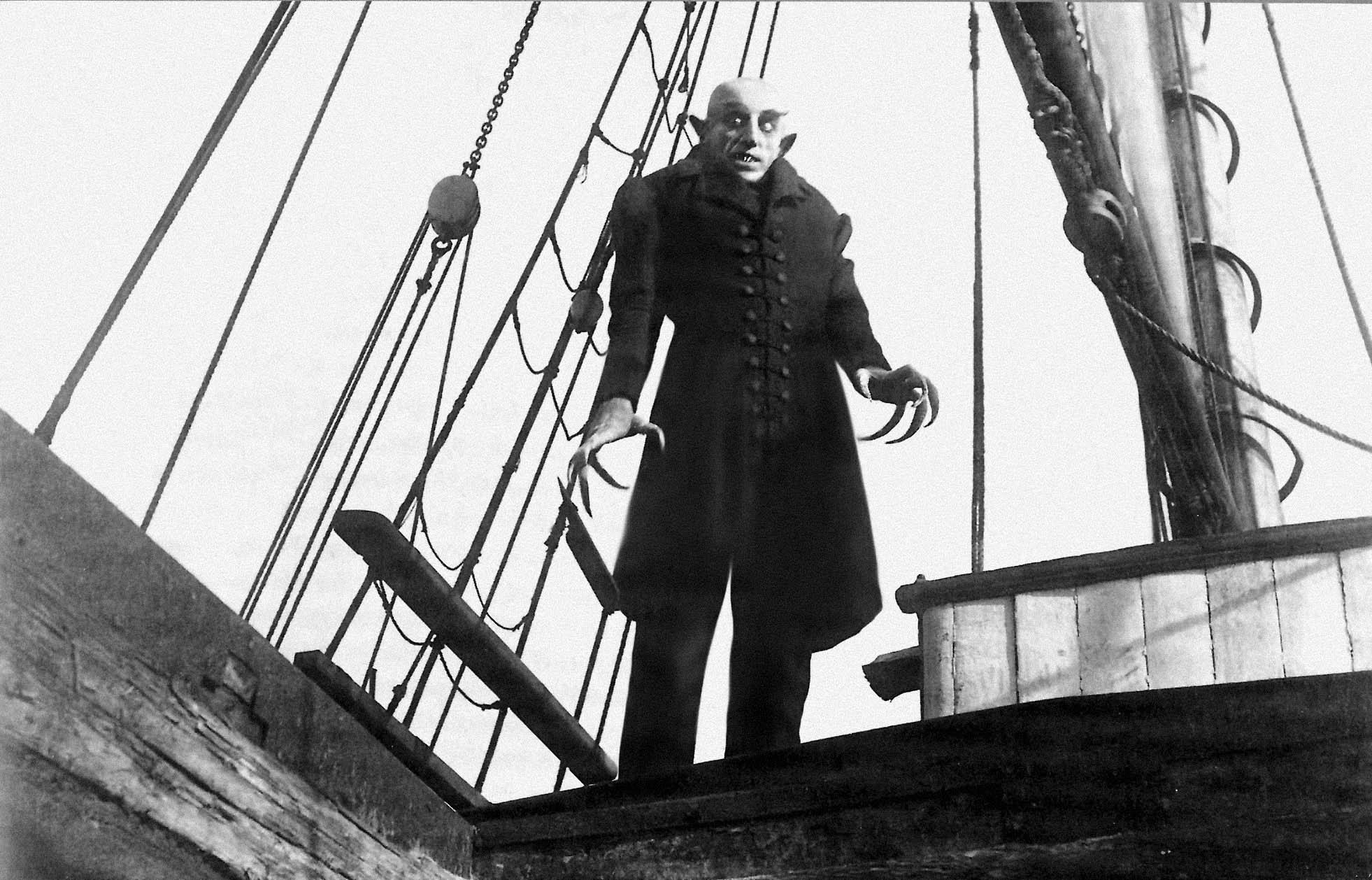 Nosferatu en la película de Murnau
