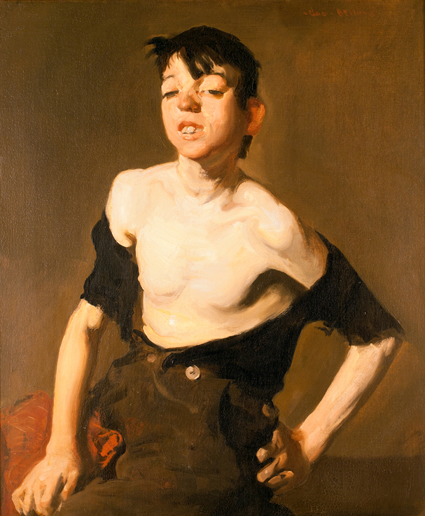 """Paddy Flannigan"", 1908 - George Bellows"