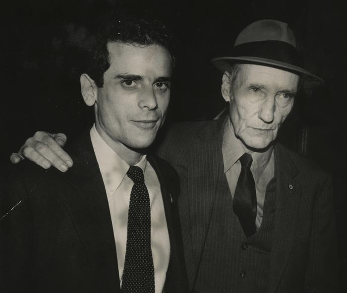 Brookner y Burroughs, 1983. Foto: © Paula Court
