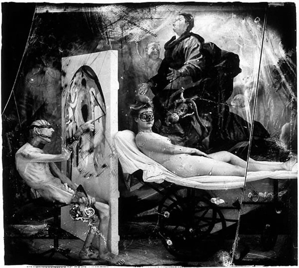 "Joel-Peter Witkin, ""Poussin aux enfers"",1999 © Joel-Peter Witkin © Courtesy baudoin lebon"