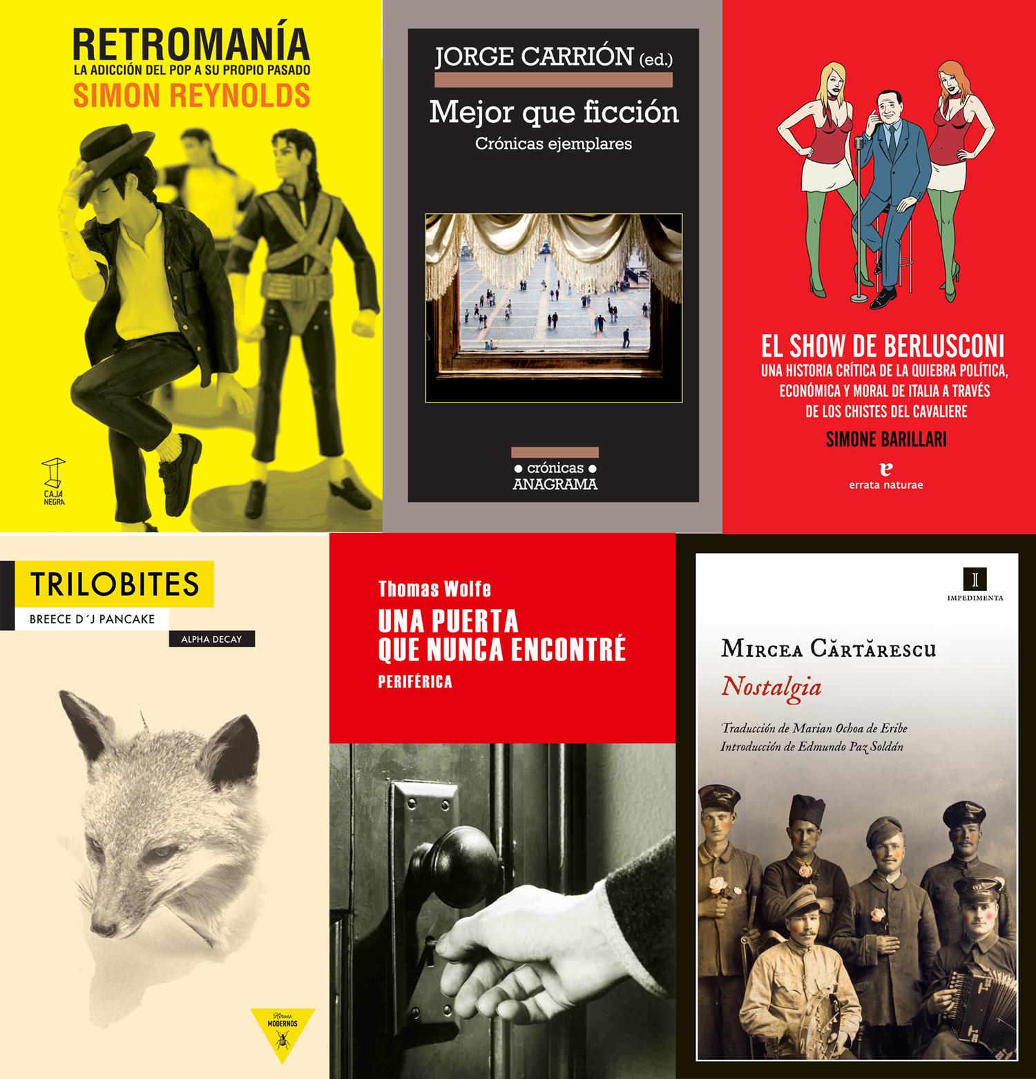 Media docena de libros de 2012