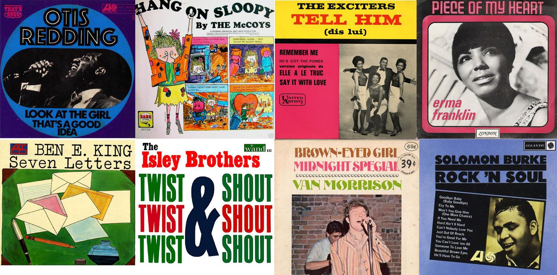 Algunos de los discos con música y producción de Berns