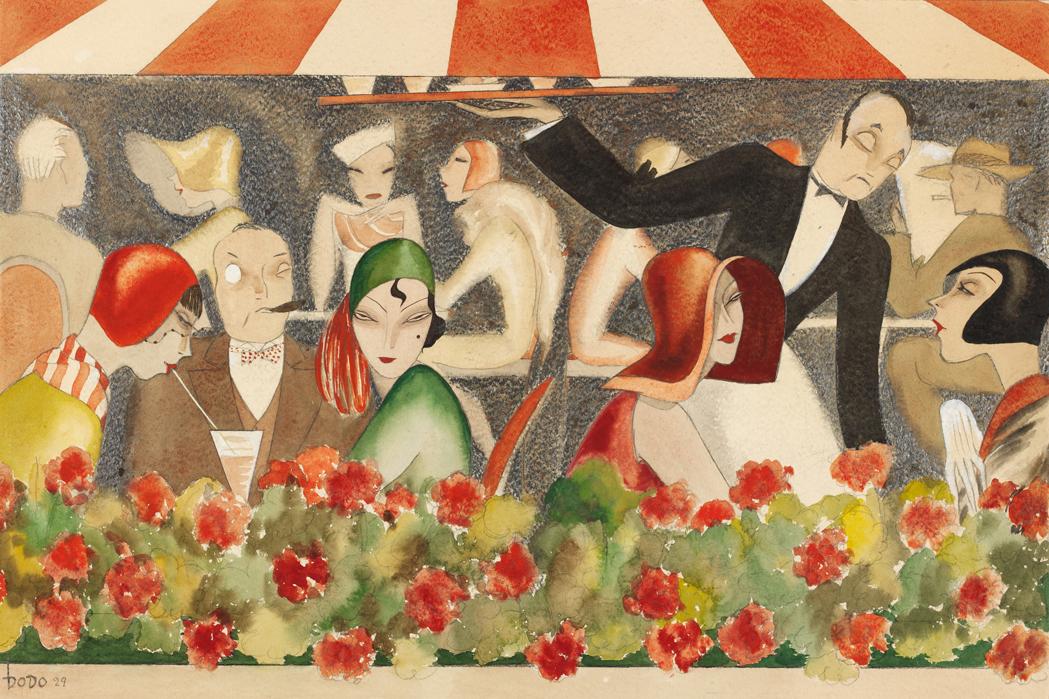 'Wedding auf dem Dachgarten' (1929)