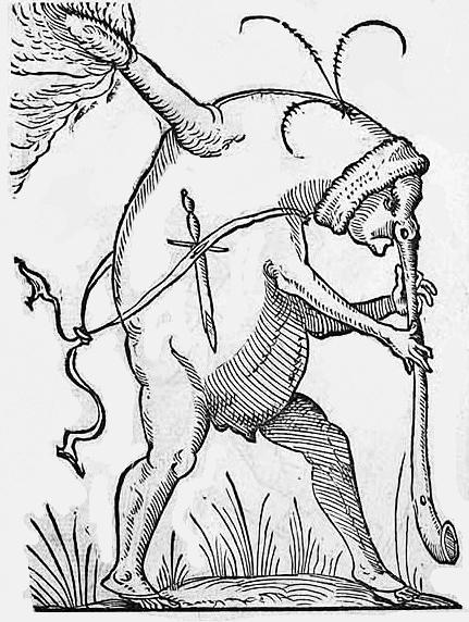"""Ilustración de """"Gargantúa y Pantagruel"""""""