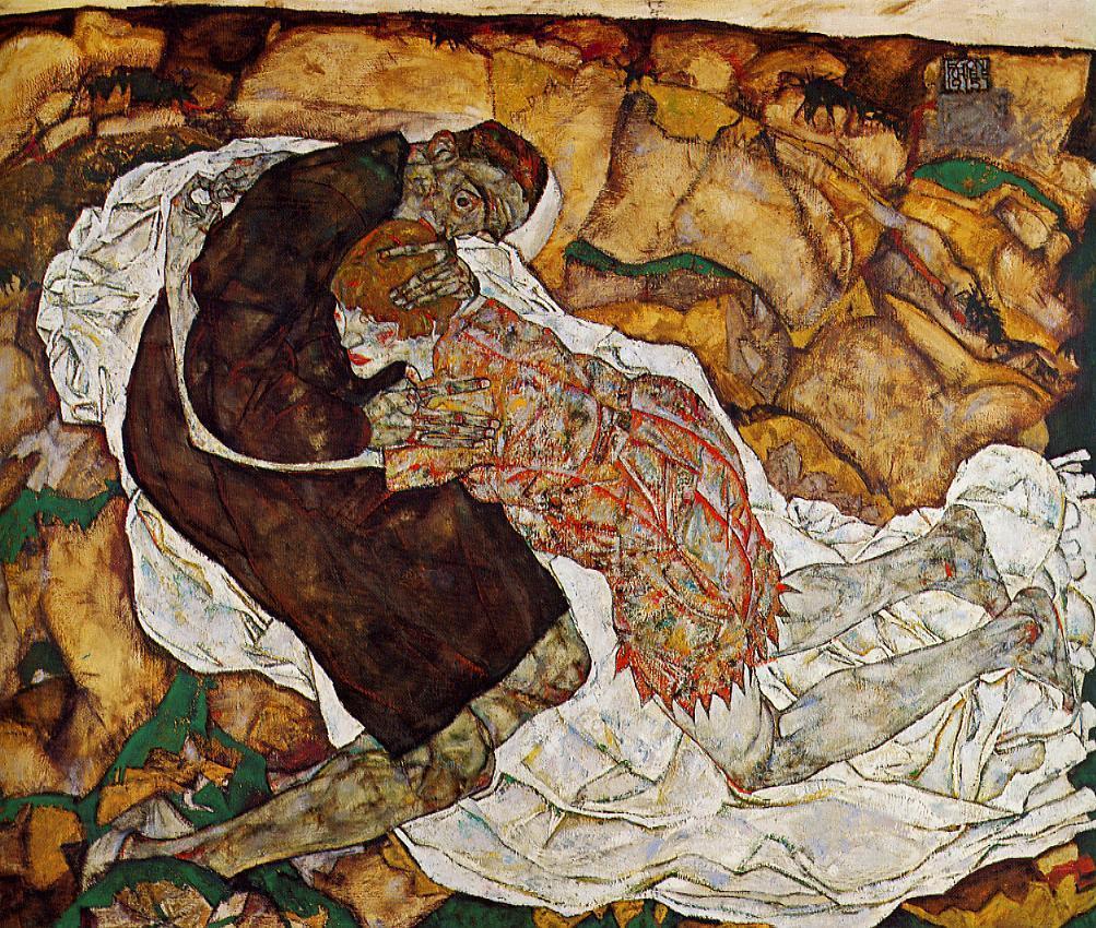 'La muerte y la doncella' (1915)