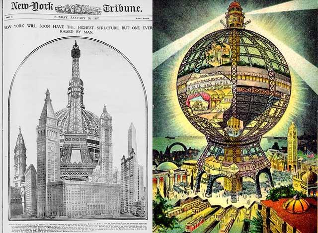 La 'Globe Tower' que se iba a construir en Nueva York