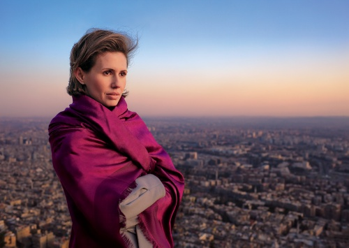 Asma al-Assad (Foto: James Nachtwey)