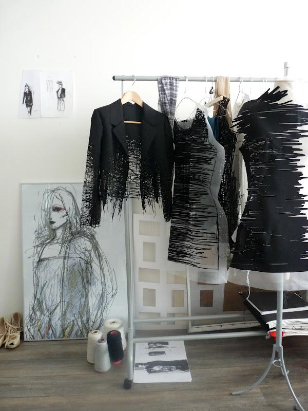 Algunas de las prendas diseñadas por Elvira 't Hart