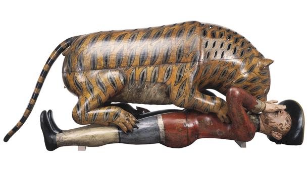 'El tigre de Tipu' del Museo Victoria and Albert de Londres