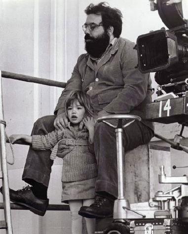 Francis Ford Copola y su hija Sofía