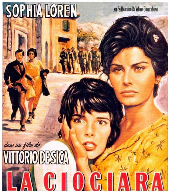 """Cartel de """"La Ciociara"""" (""""Dos mujeres"""")"""