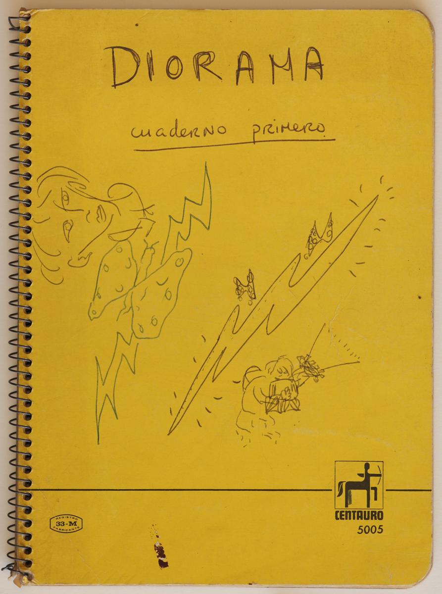 Diorama / cuaderno primero  Manuscrit inèdit de Roberto Bolaño Arxiu 23 – 115 © Hereus de Roberto Bolaño