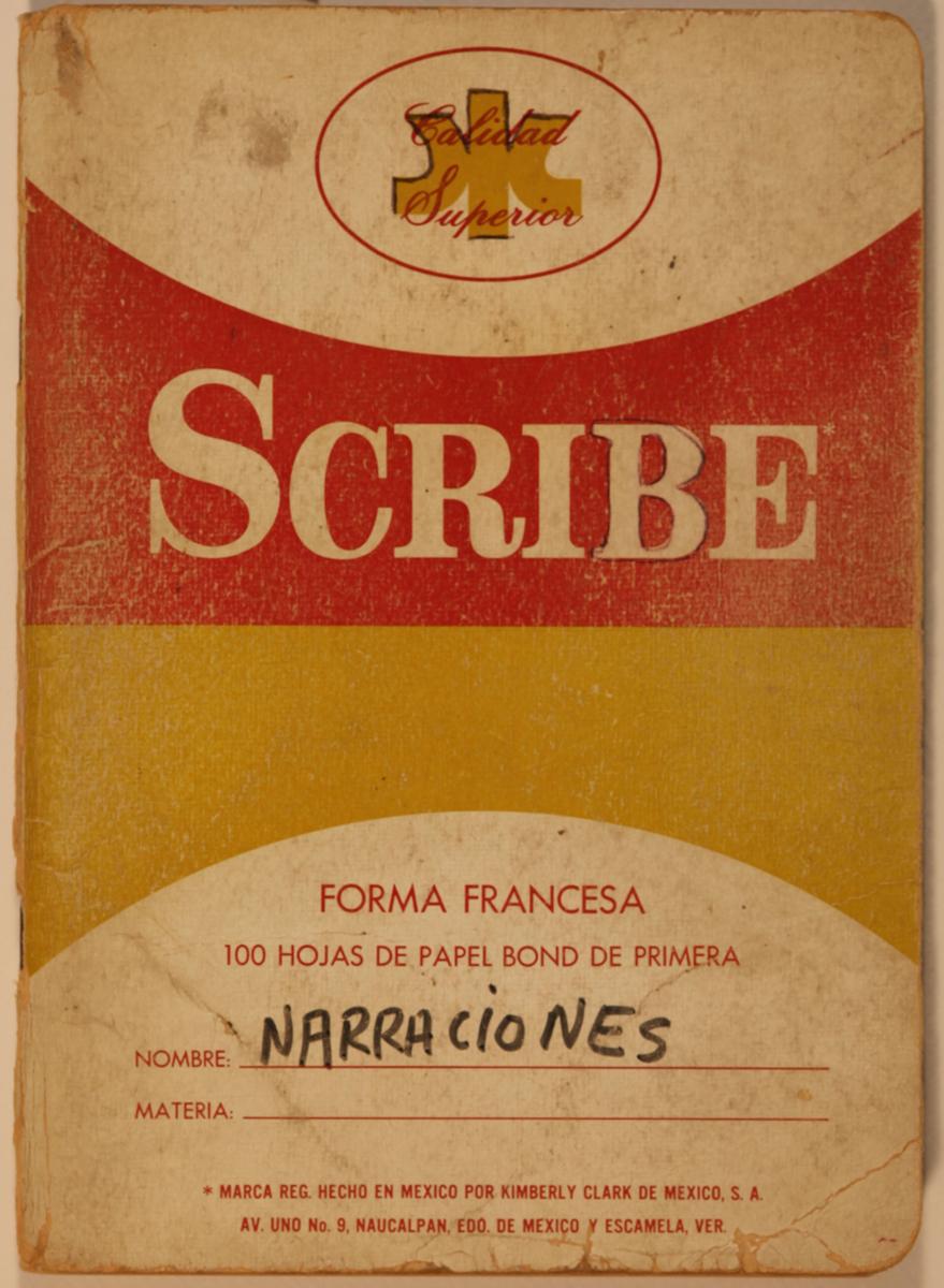 Narraciones Manuscrit de Roberto Bolaño, 1980 Arxiu 18 – 94 © Hereus de Roberto Bolaño