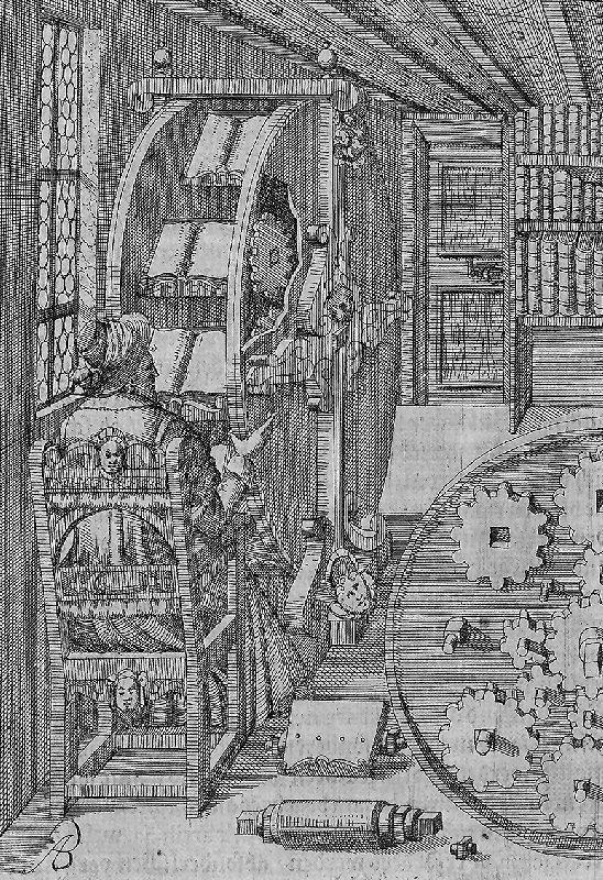 La 'rueda de libros' de Agostino Ramelli