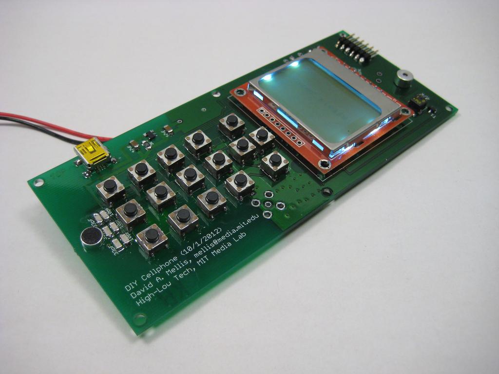 Prototipo del móvil de Mellis