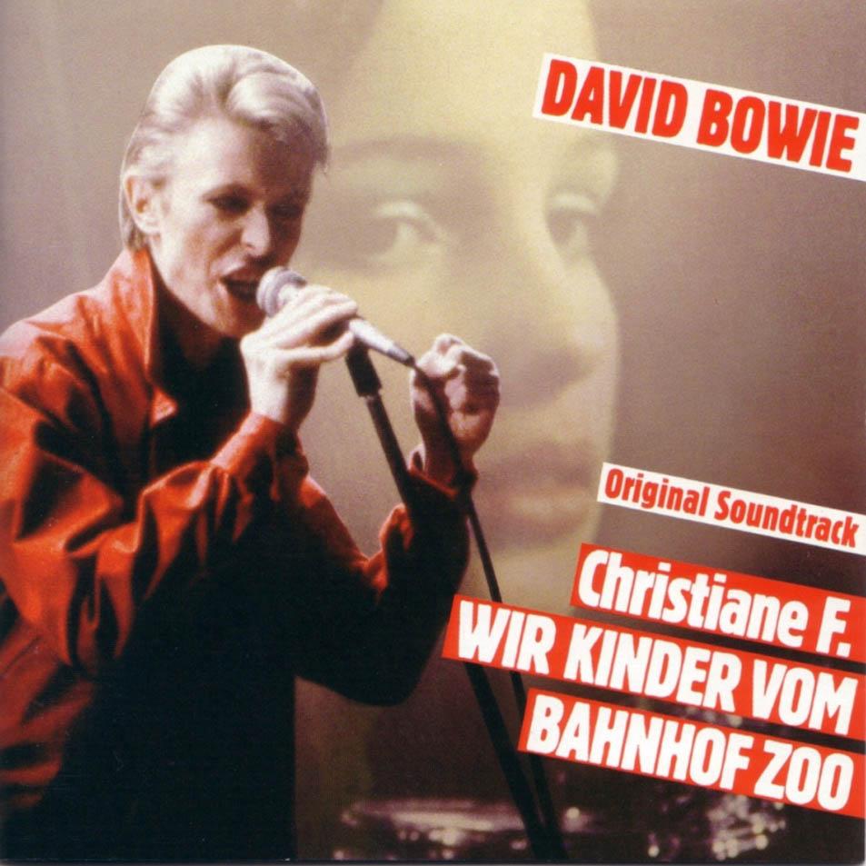 Cubierta del disco de Bowie con la banda sonora