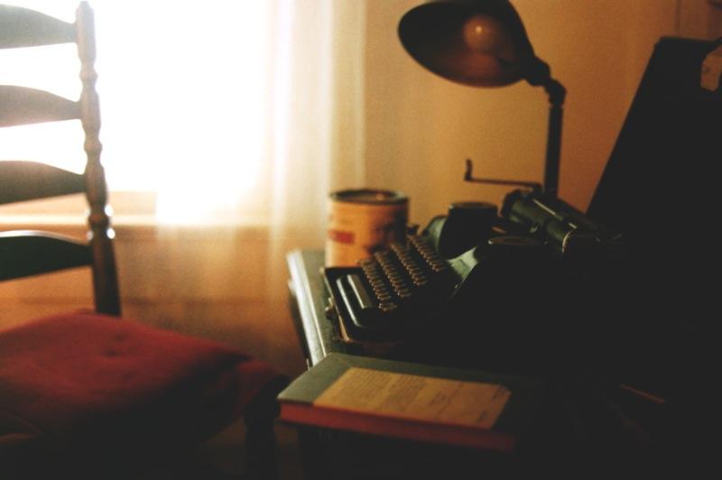 La máquina portátil Underwood de Faulkner