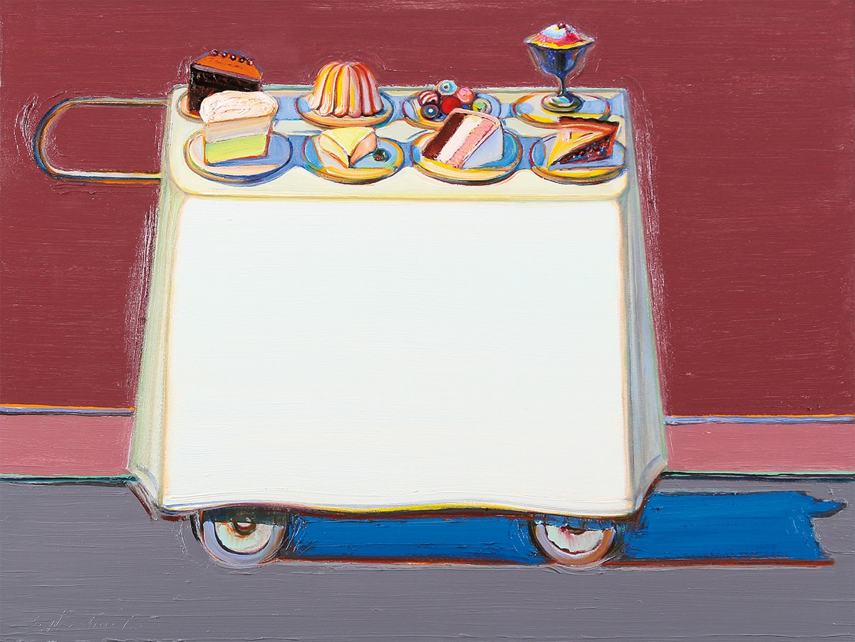 Wayne Thiebaud - Café Cart-2012