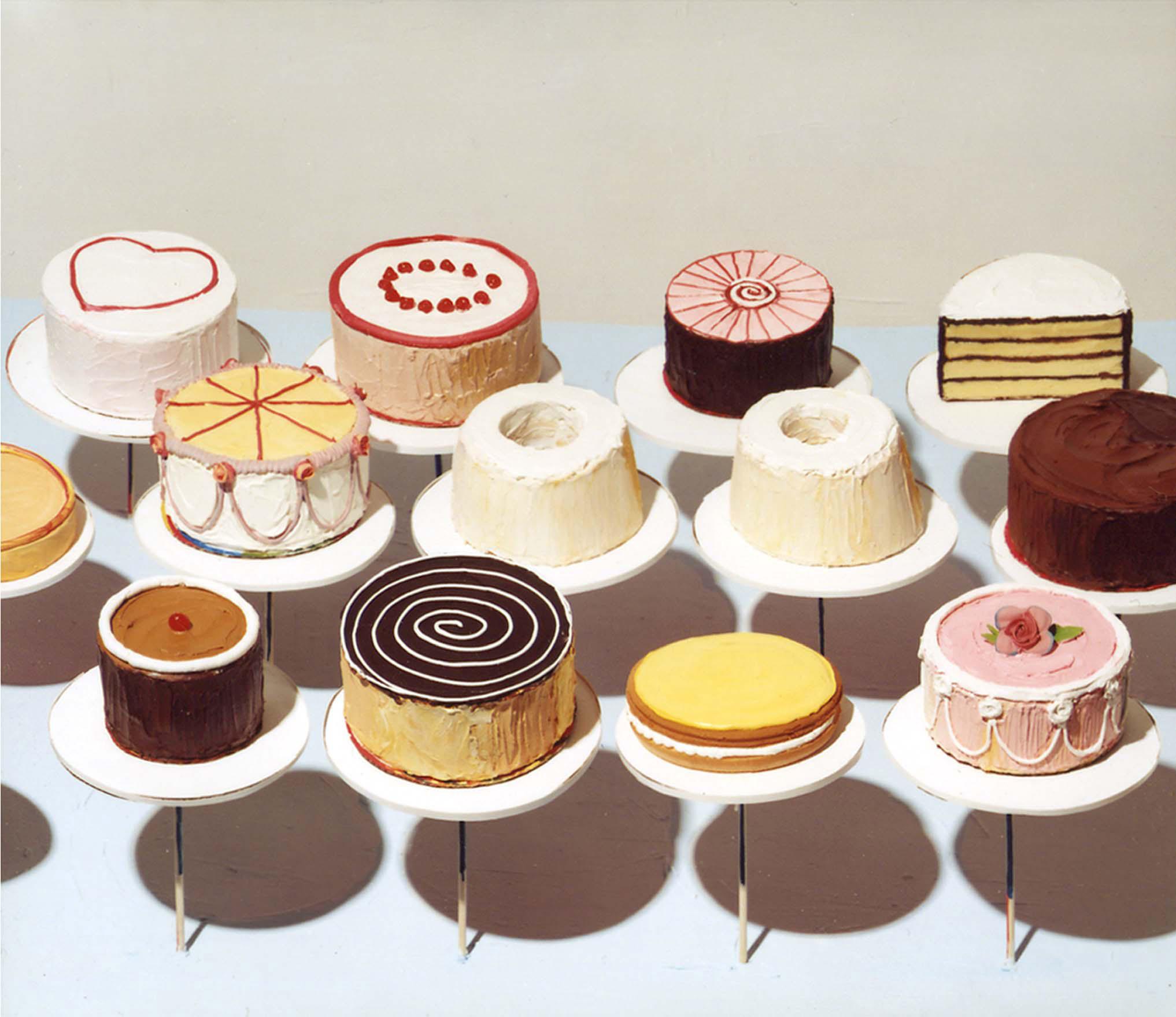 'Cakes' (1963) - Wayne Thiebaud