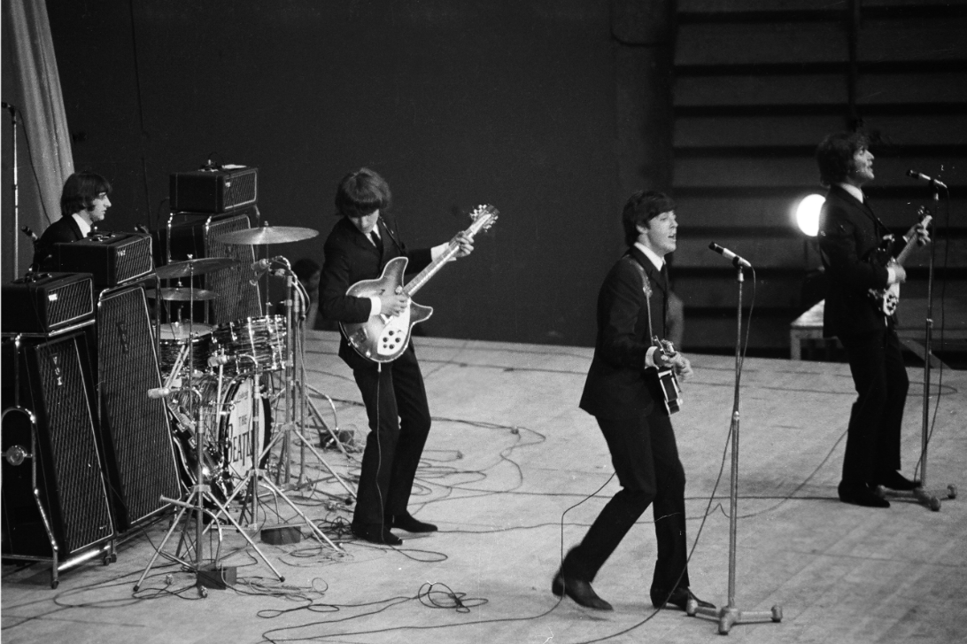 The Beatles, live 1965 © Roger Kasparian
