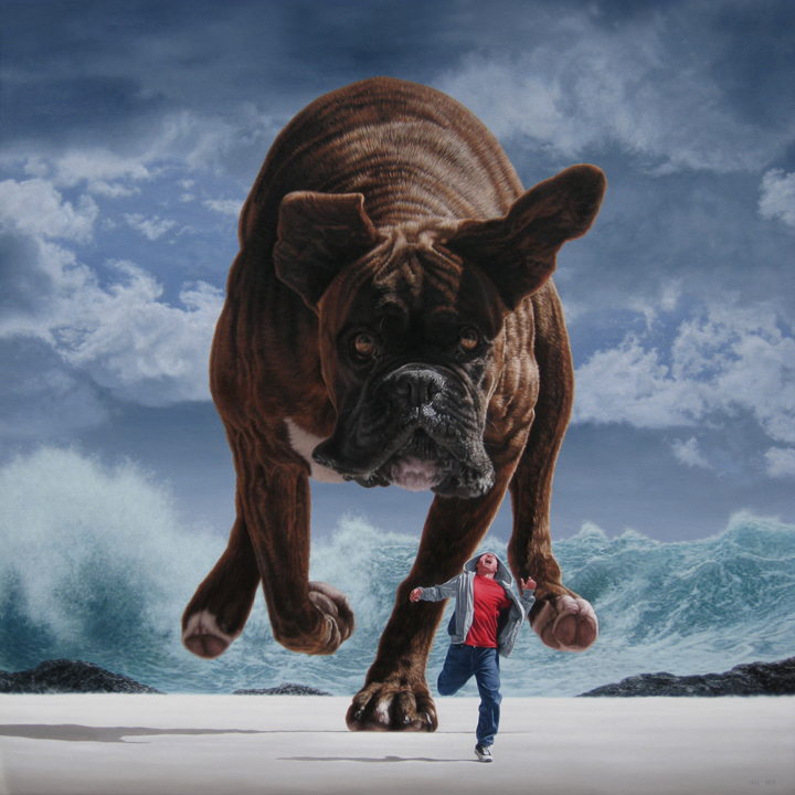 'Pursuit Under Silver Skies' - Joel Rea