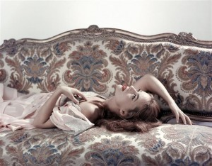 Jeanne Moreau © Sam Lévin