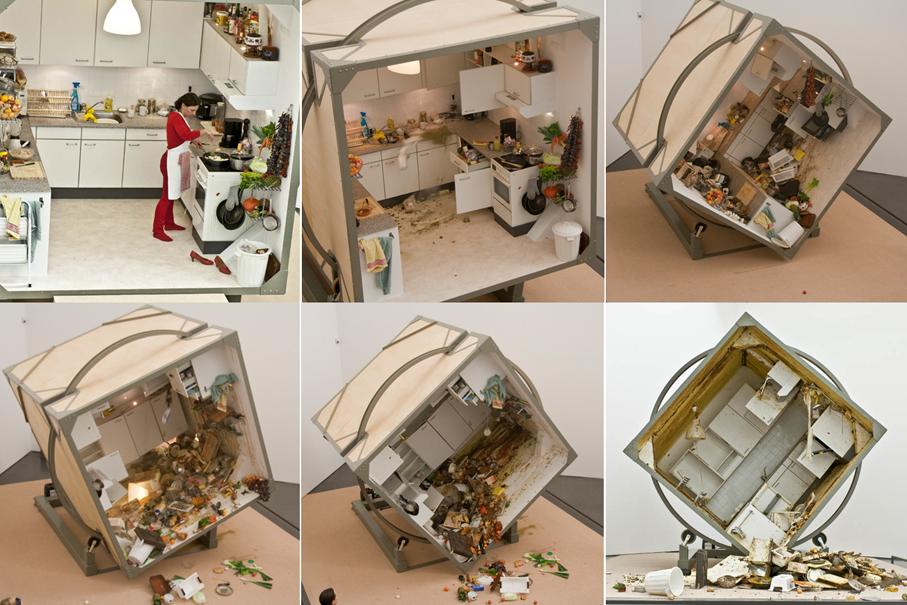 'Rotating Kitchen' - Zeger Reyers