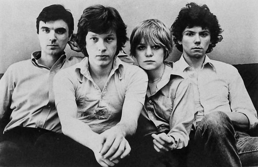 Desde la izquierda, David Byrne, Chris Frantz, Tina Weymouth y Jerry Harrison