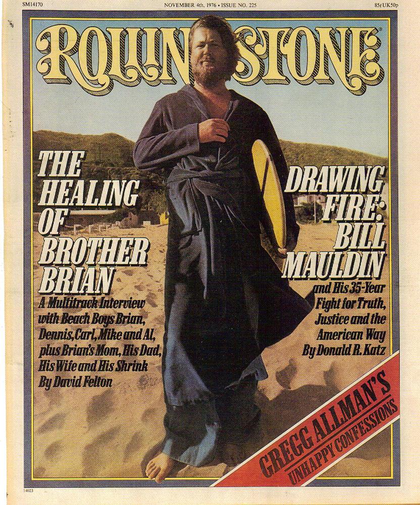 """""""La curación del hermano Brian"""". Portada de la revista Rolling Stone"""