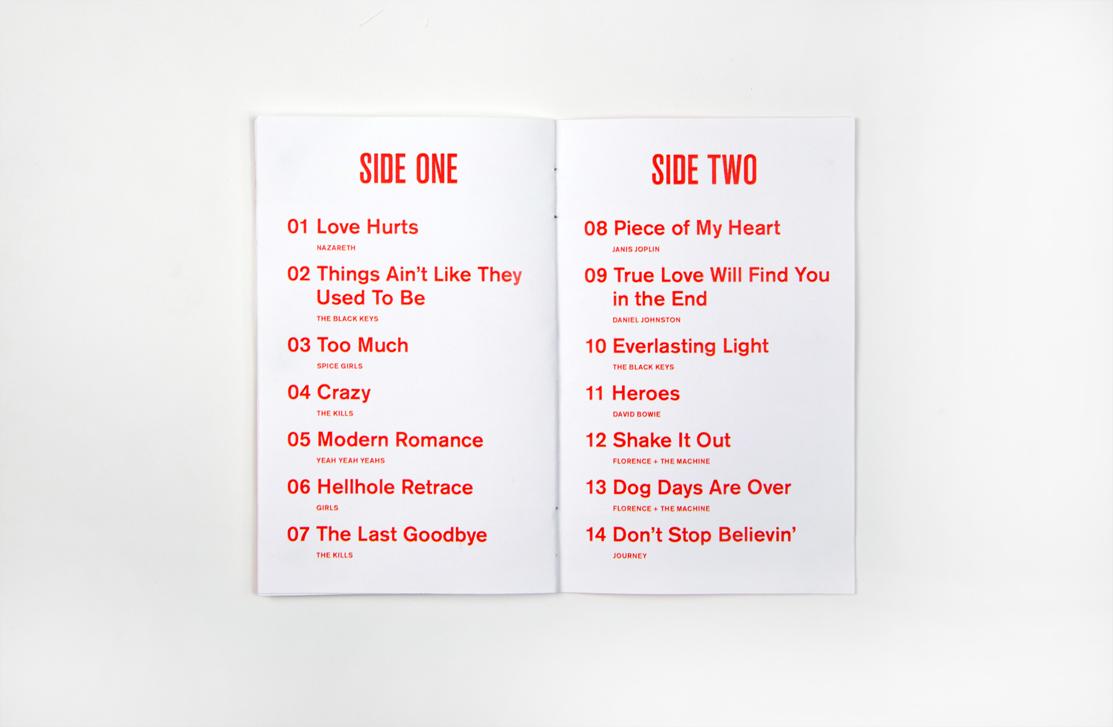 Love Hurts - lista de canciones - foto Luke Nilsson