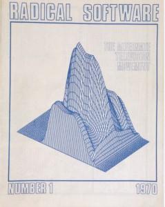 Radical Software, número 1, 1970