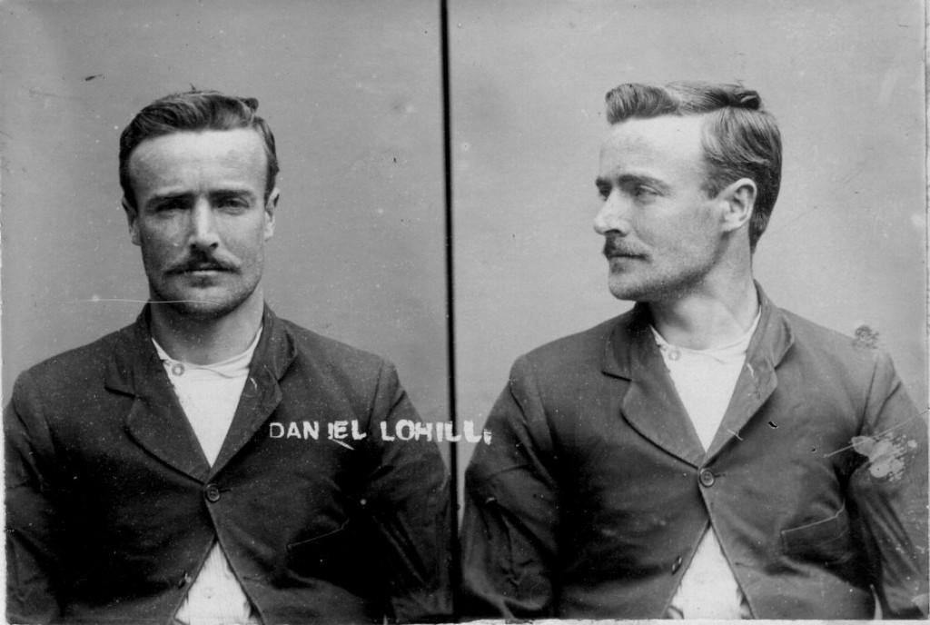 El ladrón neozelandés Daniel Tohill en 1908 a los 27 años