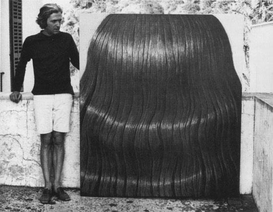 Domenico Gnoli en Mallorca en 1969