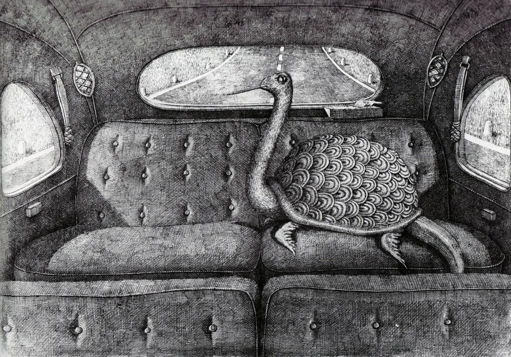 Domenico Gnoli - turtle