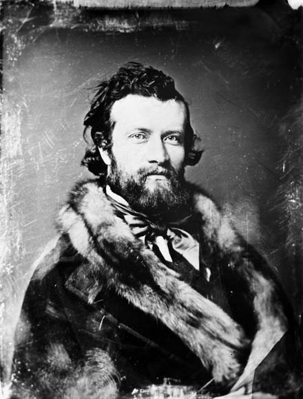 Sir Sandford Fleming, explorador e ingeniero escocés-canadiense (1827-1915)