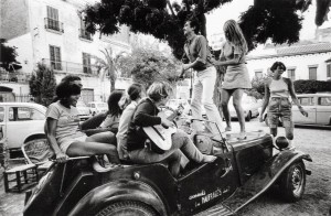 1962, La chispa de la vida en Cadaqués. Costa Brava © Oriol Maspons