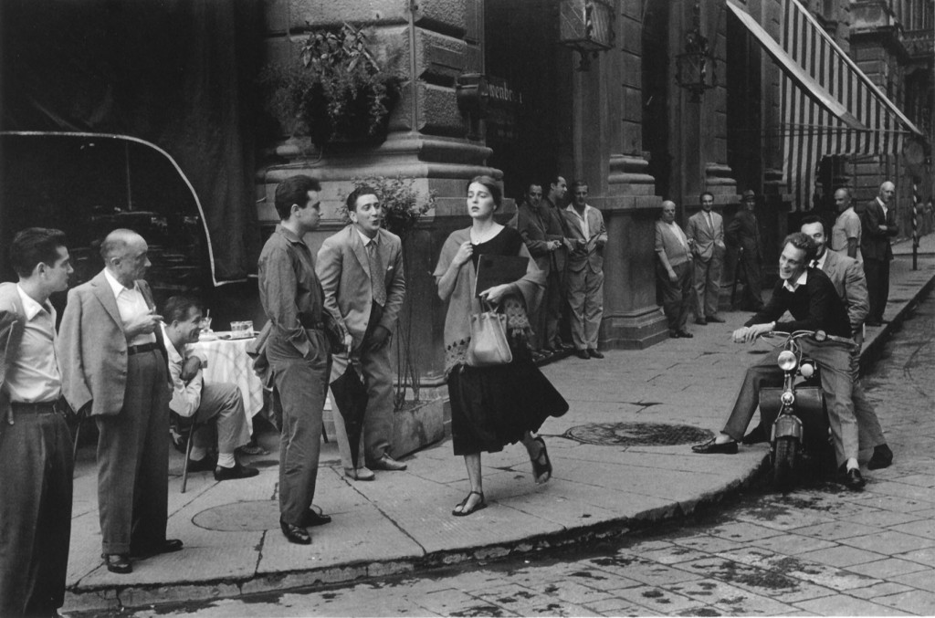 """American Girl in Italy"", 1951 © Ruth Orkin"