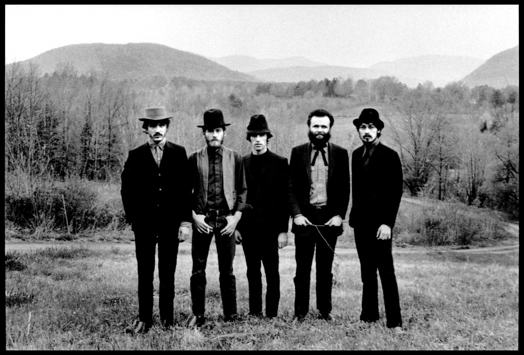 The Band, 1968 © Elliott Landy