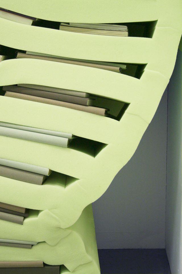 'Soft Cabinet Green' (detalle)- Studio Dewi Van De Klomp