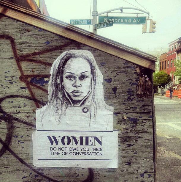 'Las mujeres no te deben su tiempo o su conversación'