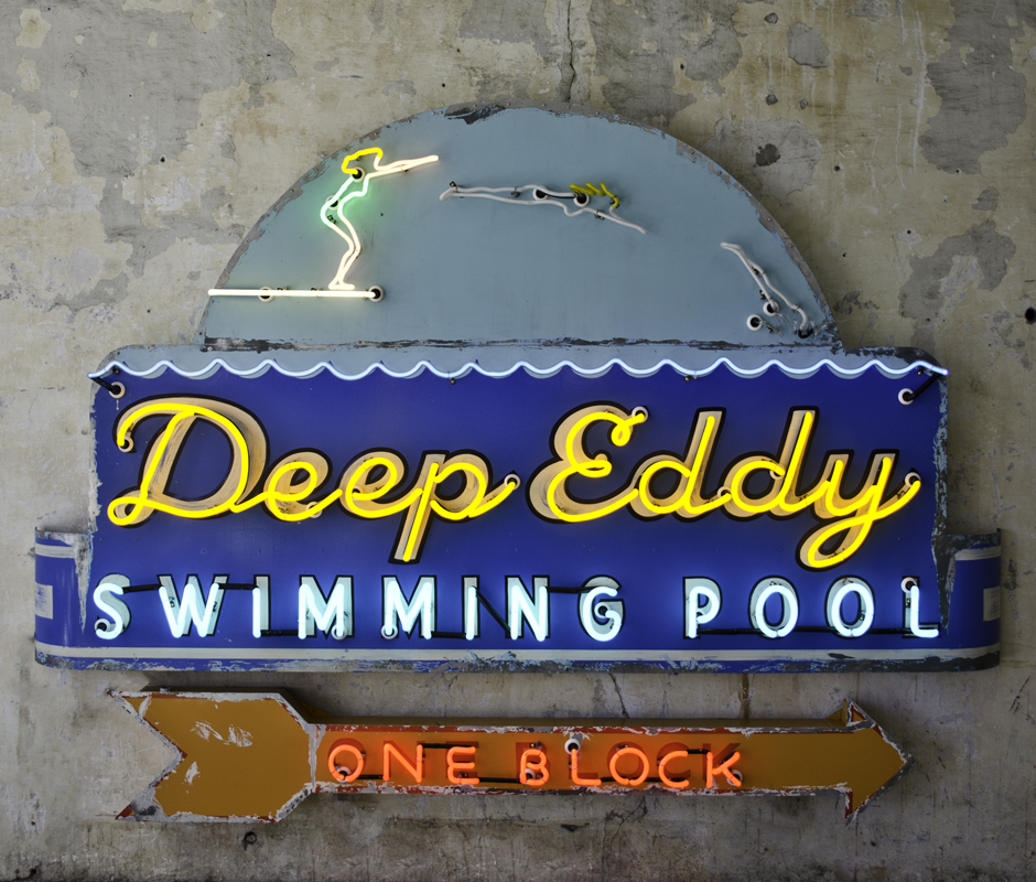 'Deep Eddy' - Todd Sanders - Roadhouserelics.com