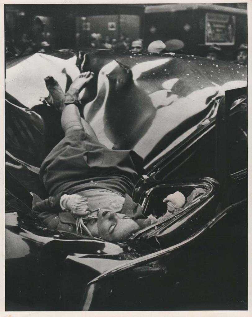 El cadáver de Evelyn McHale - Foto: Robert Wiles